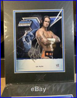 RARE WWE Smackdown Decade 10th Anniversary Promo Set Autographs & More