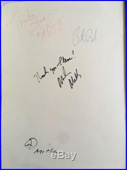 R. E. M. 1991 Fully Autographed Promo Triptych Photograph Michael Tighe Athens