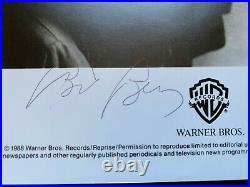 R. E. M. Full Band Signed 8x10 Promo Photo JSA LOA XX13167 1988 Warner Bro Records