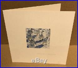 Radiohead Autographs Original Signed Xmas Cards GENUINE With Promo Photos