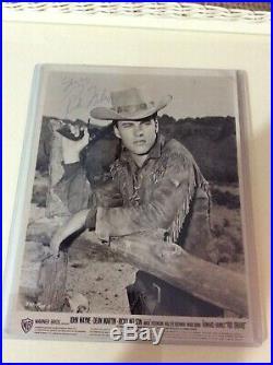Rare Ricky Rick Nelson Autograph Signed Rio Bravo Promo Photo John Wayne