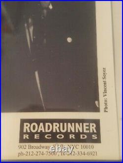 Rare TYPE O NEGATIVE Peter Steele and Band signed Promo Photo