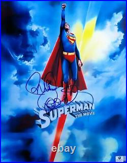 Richard Donner Signed Autographed 11X14 Photo Superman The Movie Promo GV793614