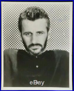 Ringo Starr Signed Promo Photo, The Beatles