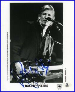 Roger Waters Pink Floyd Promo Autographed Signed 8x10 Photo Beckett BAS COA