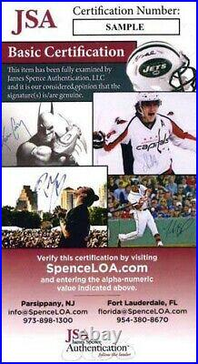 Roy Scheider Still of the Night Signed 8x10 Glossy Promo Photo JSA Authenticated