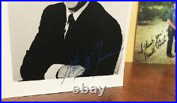 STEVE McQUEEN Autographed Promo Photo 1960's Free shipping