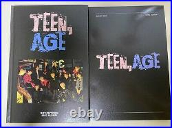 Seventeen 2nd Album TEEN AGE Autographed Signed Promo CD Dino Photo Card