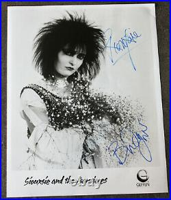 Siouxsie and the Banshees Promo Photo signiert Autogramm signed