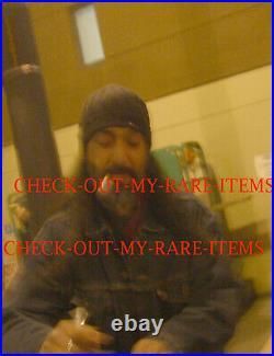 Soundgarden signed Badmotorfinger promo photo X4 Chris Cornell proof