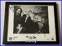 Staind Band Aaron Lewis Autographed Signed Framed Promo Photo Jsa Coa # Ss27856