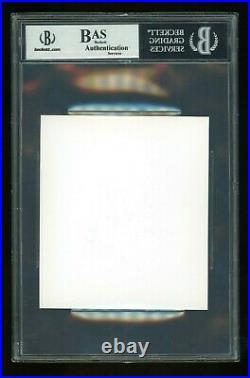 Stone Cold Steve Austin BGS/BAS Certified Autograph Signed Auto Promo Card Slab