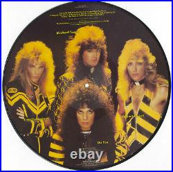Stryper, To Hell With The Devil, Autographed Vinyl Picture Disc, Poster Numbered