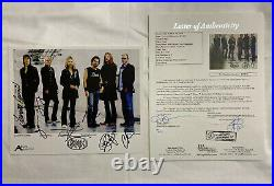 Styx Full Band Autographed 8x10 Promo Photo JSA Letter Cert Tommy Shaw