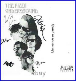 THE PIZZA UNDERGROUND Signed Autograph Promo Home Alone Macaulay Culkin JSA LOA