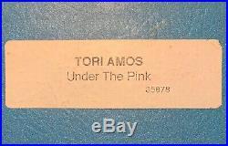 TORI AMOS Under The Pink 1994 US Promo PRESS KIT + AUTOGRAPHED PHOTO Rare