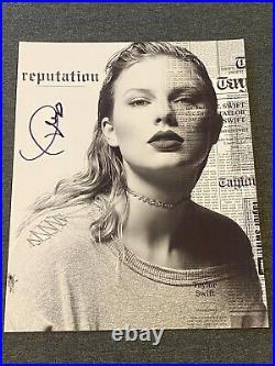 Taylor Swift Hand Signed Promo Photo Press Photograph Autograph Coa Gai Rare