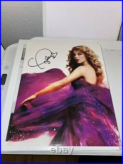 Taylor Swift Hand Signed Speak Now 8x10 Promo Autograph