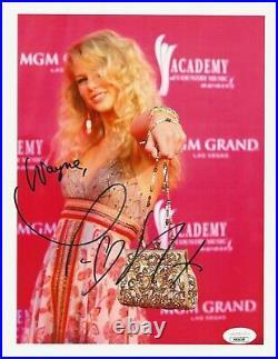 Taylor Swift REAL hand SIGNED 8.5x11 Promo Photo #2 JSA COA Autographed RARE