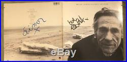 The Cure Standing On a Beach LP AUTOGRAPHED PromoPack Glossy Photo Signed By Rob