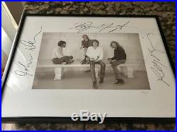 The Doors Signed #22/200 Promo 9x12 Lithograph Framed PROOF