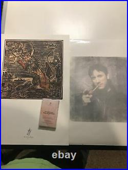 The Smashing Pumpkins Rare Lithograph Jimmy Signed Photo And Promo Cassette