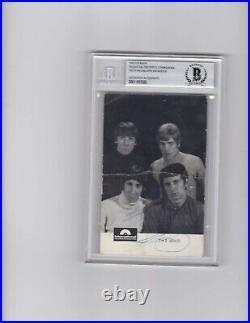 The Who Signed Promo X4 Rare Complete W Keith Moon Entwistle Roger Pete BAS COA