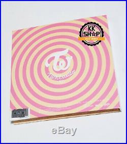Twice Album Lane1 TT Promo Autographed Signed Photo Card MOMO + Sticker KPOP