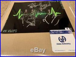 Type O Negative signed Roadrunner Records Promo 8x10 Photo COA Peter Steele Rare