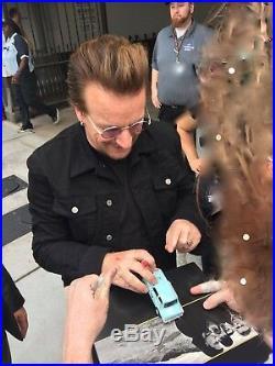 U2 RARE Bono Signed Promo Prop Trabant Car Achtung Baby + EXACT Photo Proof COA
