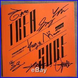 USA SELLER ATEEZ Promo Signed TREASURE EP. 1ALL TO ZERO Album CD Photo Book