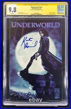 Underworld #1 CGC SS 9.8 SIGNED Kate Beckinsale RARE Promo Photo Comic IDW 2004
