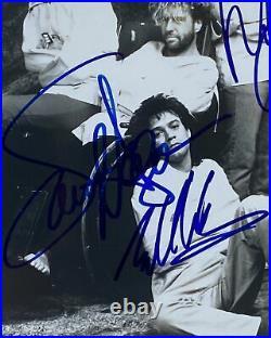 VAN HALEN Autograph IN-PERSON GROUP Signed Promo Photo X4 JSA Authentication