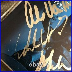 VAN HALEN Signed Promo ONLY Auto CD Black & Blue Eddie Sam Alex Michael Edward