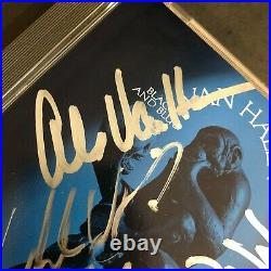 VAN HALEN Signed Promo ONLY CD Black & Blue Eddie Sam Alex Michael Edward NICE
