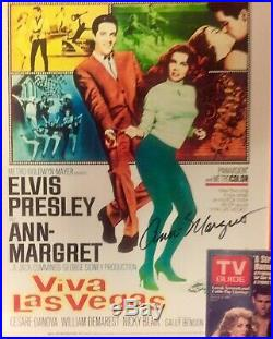 VIVA LAS VEGAS Ann-Margret Autographed 8x10 Promo Poster. Includes 2 COAs