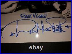 Van Halen SIGNED 8X10 Promo Autographed 1978 Eddie, Alex David Lee Roth Michael