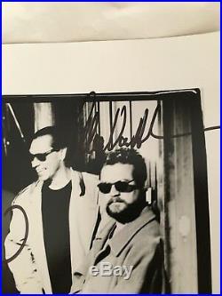 Van Halen VH Van Hagar Genuine Real Autographed Promo Photo Balance 1995