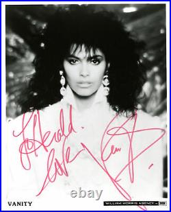 Vanity SINGER ACTRESS MODEL autograph, IP signed promo photo