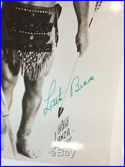Vtg 50s LITTLE BEAVER Midget Wrestling Signed 8x10 Orig Press Promo Photo RARE