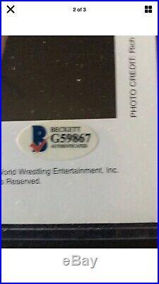 WWE CHRIS BENOIT HAND SIGNED AUTOGRAPHED 8X10 PROMO P-918 PHOTO WI/Beckett COA