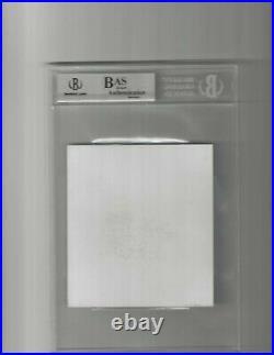WWF / WWE Stone Cold Steve Austin BGS/BAS Certified Autograph Promo Card Slab