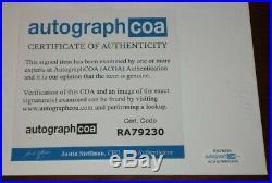 Wesley Snipes Signed Classic Blade Promo 8x10 Photo Autograph Acoa Loa Dolemite
