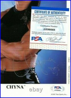 Wwe Chyna P-401 Hand Signed Autographed 8x10 Promo Photo With Psa Dna Coa Rare