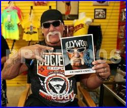 Wwe Hulk Hogan Hand Signed Autographed 8x10 Promo Photo With Proof & Beckett Coa