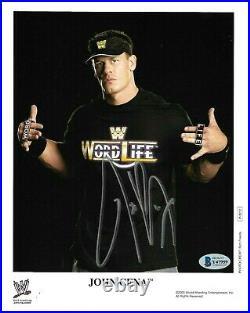 Wwe John Cena P-1012 Hand Signed Autographed 8x10 Promo Photo With Beckett Coa