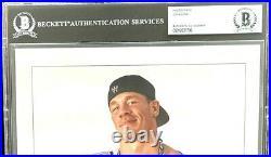 Wwe John Cena P-1038 Hand Signed 8x10 Promo Photo With Beckett Encapsulated Coa