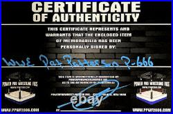 Wwe Pat Patterson P-666 Hand Signed Autographed 8x10 Promo Photo With Coa Rare