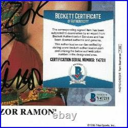 Wwe Razor Ramon P-268 Hand Signed Autographed 8x10 Promo Photo With Beckett Coa