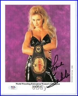 Wwe Sable P-495 Hand Signed Autographed 8x10 Promo Photo With Psa Dna Coa Rare